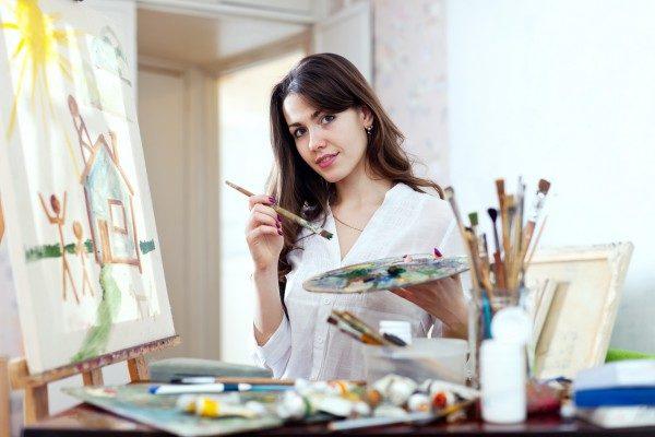 Женская арт терапия
