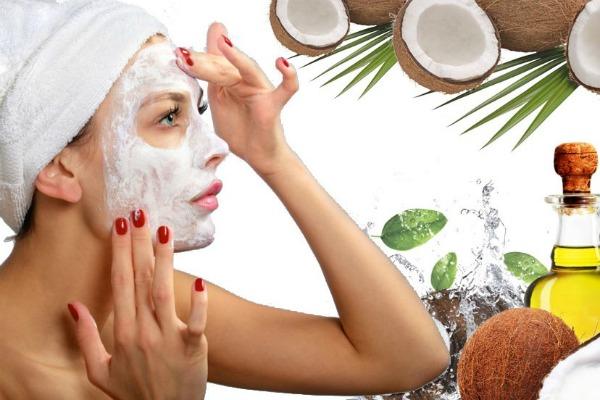 маска из кокоса для лица