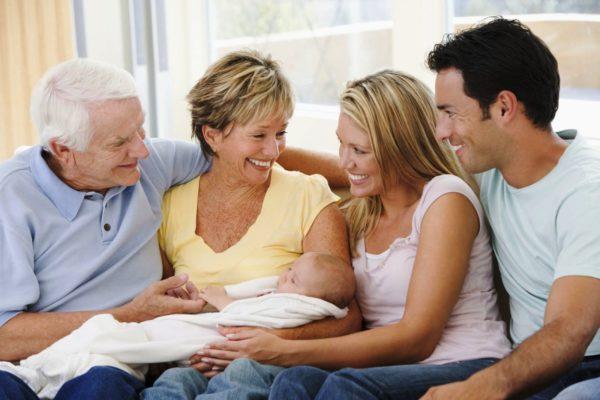 И эта сплоченность должна быть как внутри молодой семьи, так и в их отношениях с родителями