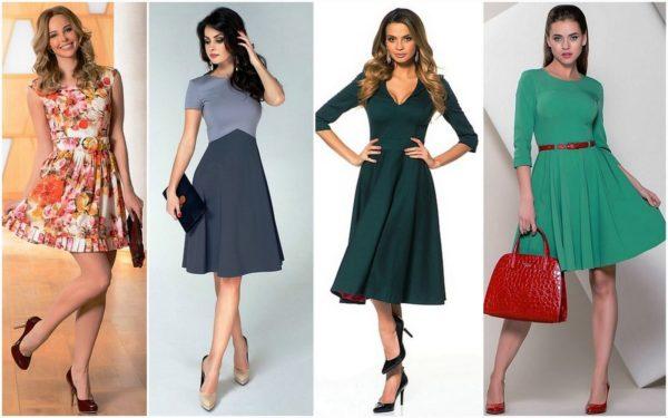 Правильно подобранное платье, делает женщину элегантной