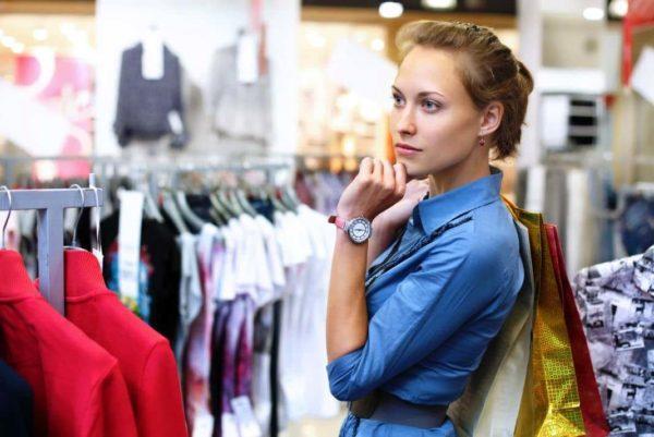 Как выбрать вещи в магазине