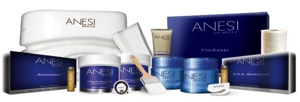 Линейки продукции Anesi