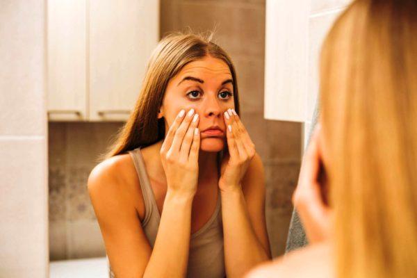 Как снять симптомы усталости с лица