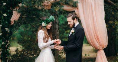 Свадьба в лесном стиле