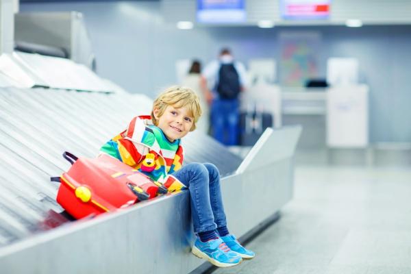 детский чемодан для путешествий