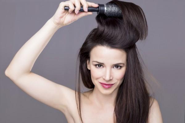 Как создать объем на голове и сохранить здоровый блеск волос
