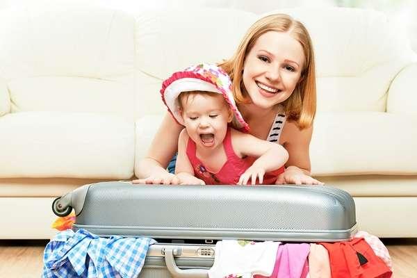 Как путешествовать с детьми до трех лет