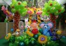 оформления детских праздников воздушными шарами