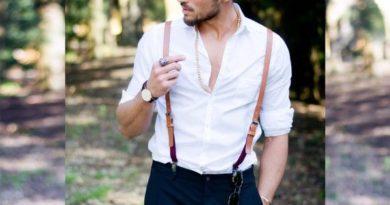 Как правильно носить стильные мужские подтяжки