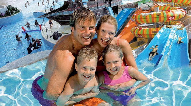 Посещение аквапарка с детьми