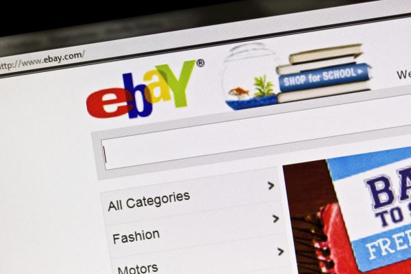 eBay регистрация